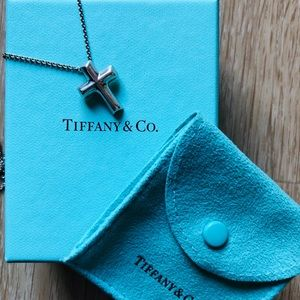 Tiffany & Co. Paloma Picasso Cross Necklace